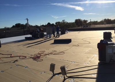 TPO Job on 3-Inch ISO Insulation